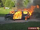 Angriffsübung Fahrzeugbrand