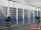 Angriffs- u. Atemschutzübung beim Lagerhaus