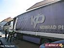 Verkehrsunfall mit 2 LKW auf der Hauptstraße