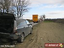 Verkehrsunfall von 2 LKW und 2 PKW auf der L112