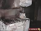 Atemschutzübung im Brandhaus