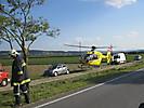 Schwerer Verkehrsunfall B19