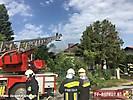 Wohnhausbrand Baumgarten